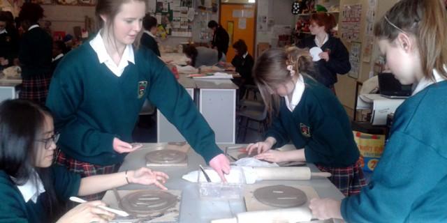 St Joseph's College, Lucan. Ceramics
