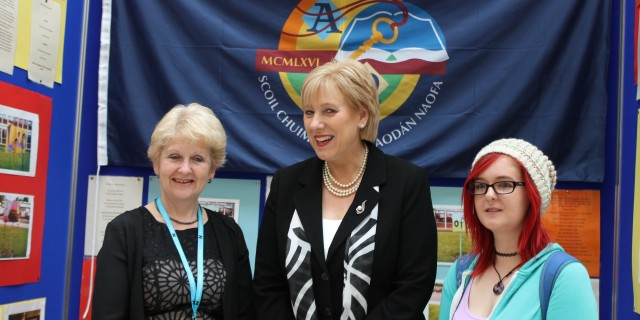 Minister of Arts Heritage and the Gaeltacht meets Creative Engagement