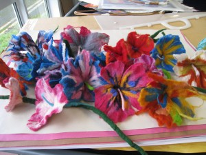 2015 Coolmine 2felt flowers