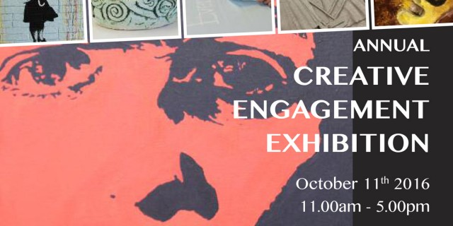 Creative Engagement Annual Exhibition Poster- IMMA 2016