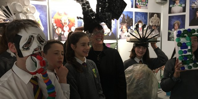 Senator Marie Louise O'Donnell visits Creative Engagement Expo 2019