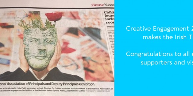 Creative Engagement 2019 Expo makes the Irish Times