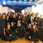 St. Michael's HFC Secondary School Finglas at the Annual Creative Engagement Exhibition in NISA